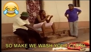 Short Comedy - So Make We Wash Your Cloth